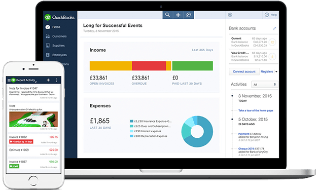 Quickbooks Accounting from Zig Zag